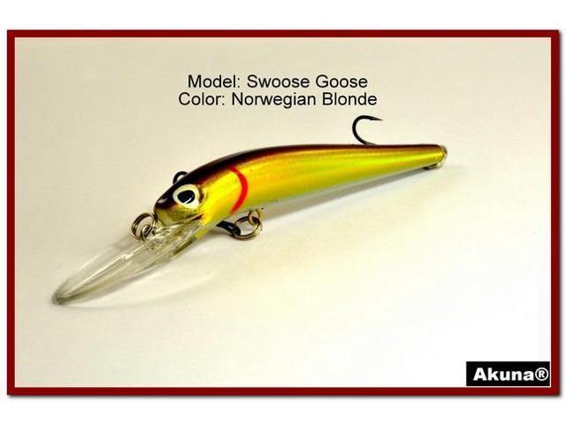 "Akuna Bush Whacker 4/"" Medium Diving Fishing Lure in Colors"