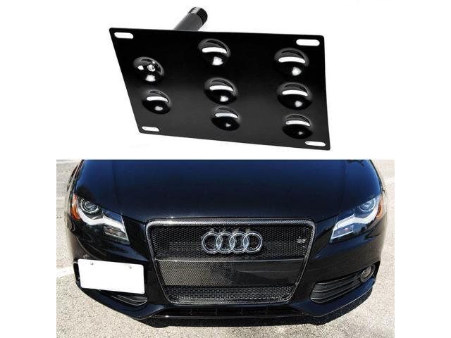 Front Bumper Tow Hole Adapter License Plate Mounting Bracket For ...