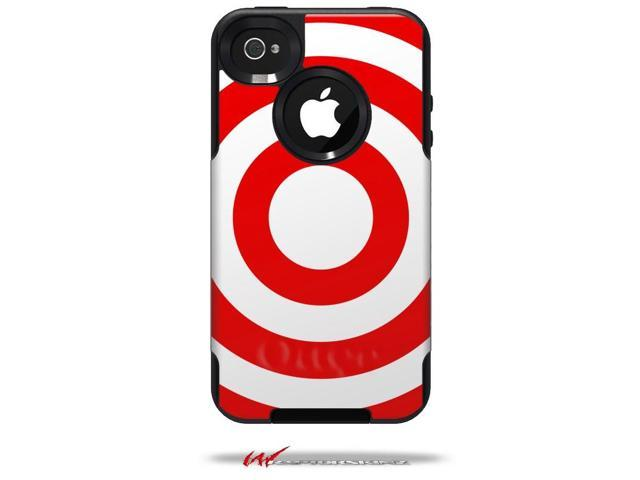 pretty nice 7da45 231e4 Bullseye Red and White - Decal Style Vinyl Skin fits Otterbox Commuter  iPhone4/4s Case - (CASE NOT INCLUDED) - Newegg.com