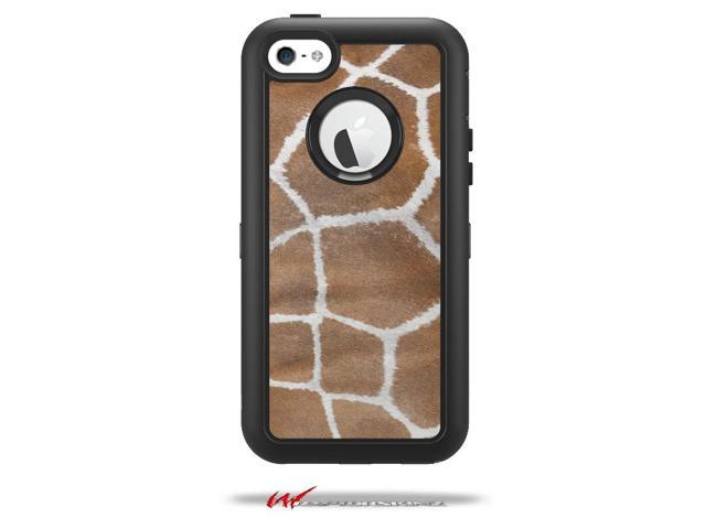 sports shoes 38528 418f4 Giraffe 02 - Decal Style Vinyl Skin fits Otterbox Defender iPhone 5C Case -  (CASE NOT INCLUDED) - Newegg.com