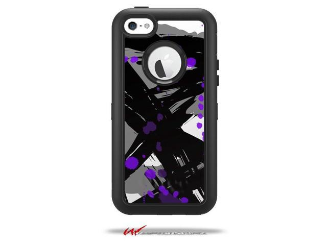 new style 30dc3 80f62 Abstract 02 Purple - Decal Style Vinyl Skin fits Otterbox Defender iPhone  5C Case - (CASE NOT INCLUDED) - Newegg.com