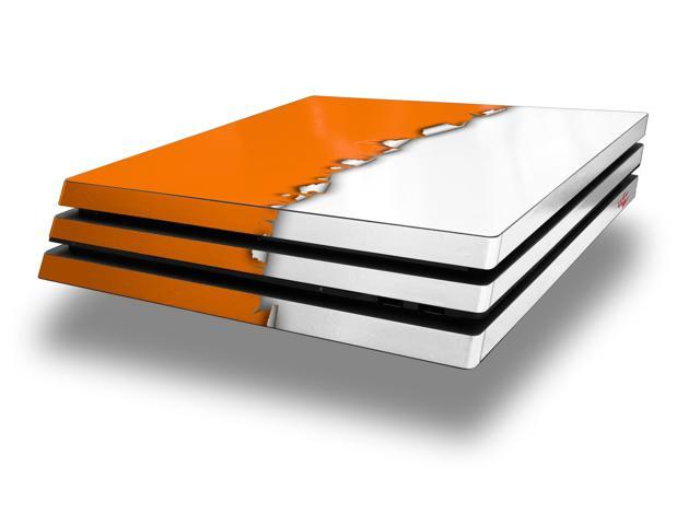 Ripped Colors Orange White PS4 Pro Skin fits Sony Playstation 4 Console -  Newegg com