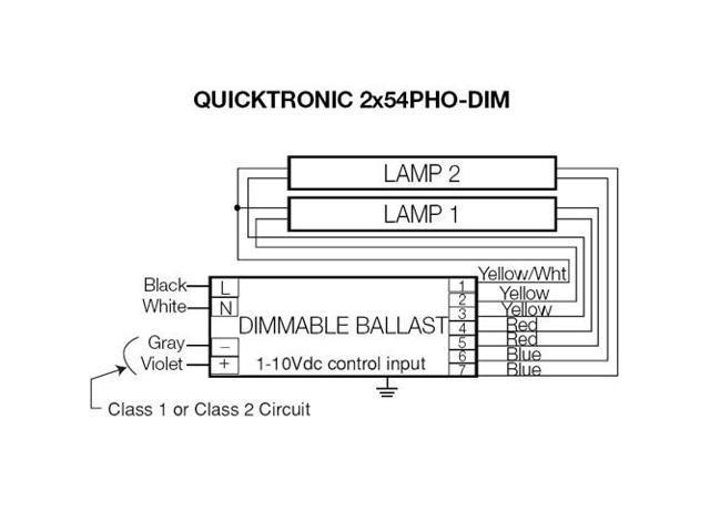 osram sylvania 54w 277v t5 quicktronic series ballast