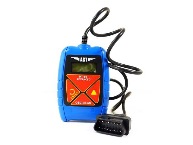 AGT Compact OBD-II CAN Diagnostic Code Reader Scanner Tool - Newegg com