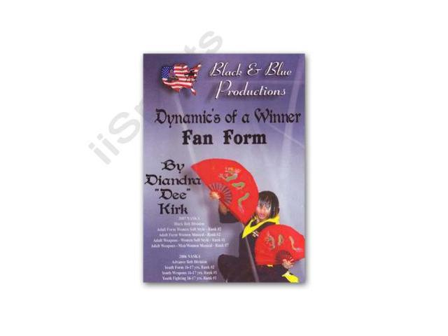 Dynamics of a Winner Kung Fu Chinese 1 & 2 Fan Forms Diandra Kirk DVD  taichi fighting opening hold #RS-0522 - Newegg com