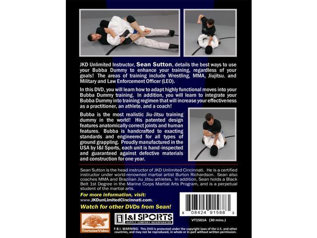 Sutton MMA Bubba Grappling Man Dummy Training DVD jiu jitsu judo wrestling  nhb police training - Newegg com