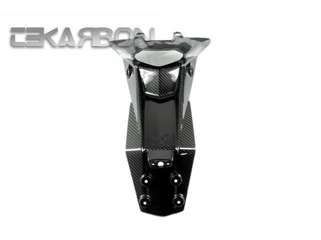 12-13 KTM Duke 200 /125 Carbon Fiber License Plate Holder - Twill ...