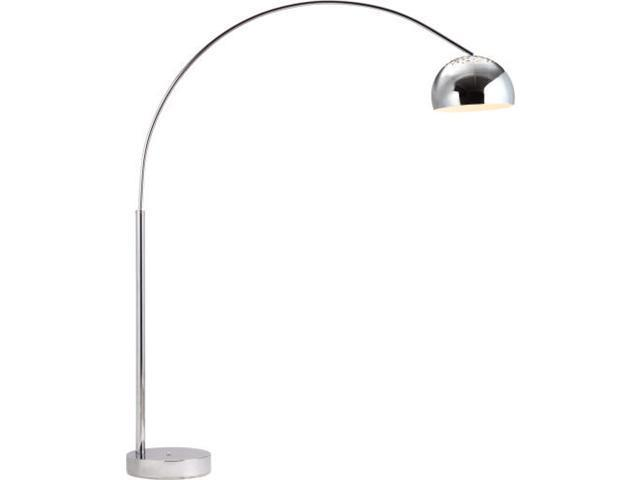 Zuo Modern 50019 Galactic Floor Lamp Chrome Newegg Com