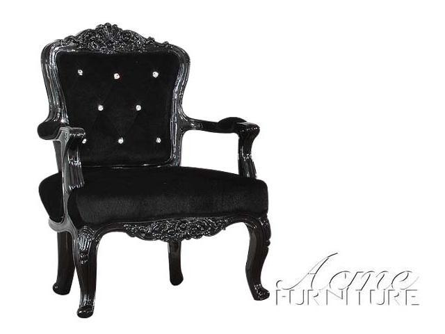 Prime Pascal Accent Chair In Black Frame Pu Chair By Acme Furniture Newegg Com Gmtry Best Dining Table And Chair Ideas Images Gmtryco