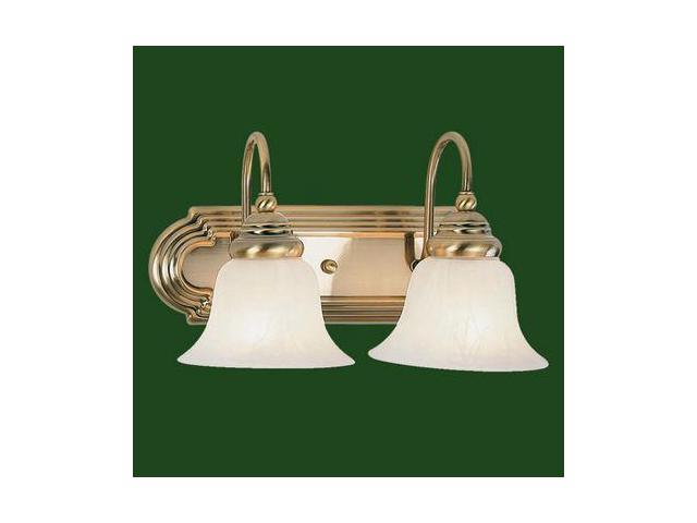 Livex Lighting Belmont Bath Light In Antique Brass