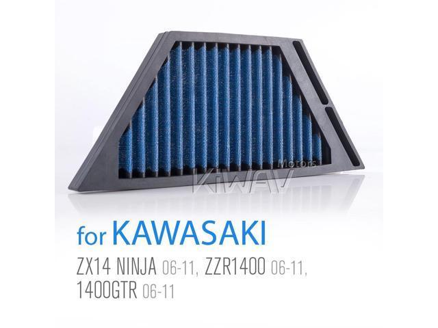 magazi air filter for kawasaki zx14 ninja 06-11, zzr1400 06-11,