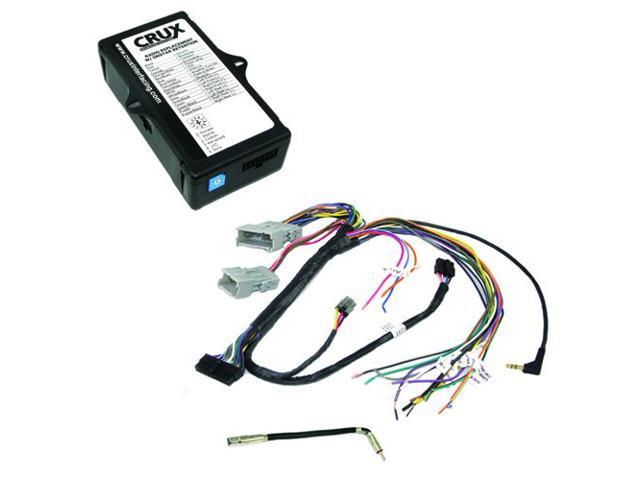 CRUX SOOGM-15 Radio Replacement Interface (for select GM Class II vehicles  while retaining OnStar functionality with Bose Amplified & Non-Amplified