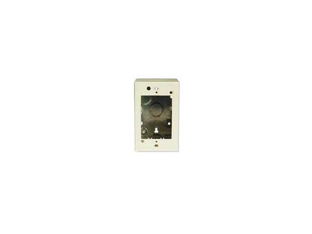 Wiremold V5744 500/700 Single-Gang Extra Deep Switch & Receptacle Box  Fitting, Ivory - Newegg com