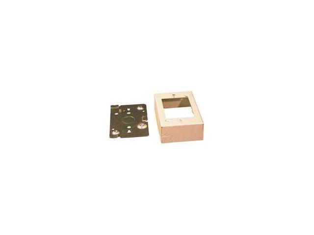 WIREMOLD V5741 1-Gang Shallow Device Box, 1-3/8\