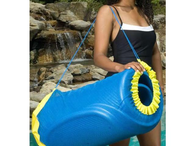 """30/"""" L x 17/"""" Diameter. Handy Float Tote Unsinkable Bag for Water Loungers"""