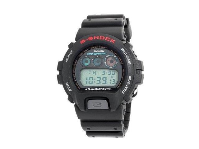 846c2233d723 Casio DW6900-1V Men s G-Shock Classic Black Digital Illuminator Sports Watch