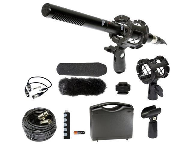 Digital SLR Camera Microphone Kit for Canon EOS Rebel M 1D C X 5D Mark II  III 6D 7D 60D 60Da T1i T2i T3 T3i T4i T5i SL1 - Newegg com