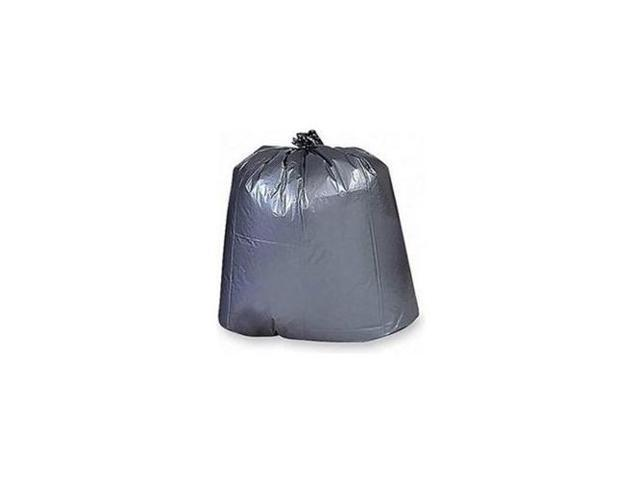 "Genuine Joe Trash Can Liner 55-60 Gallon .8Mil 38/""x58/"" 100//BX Clear 01014"