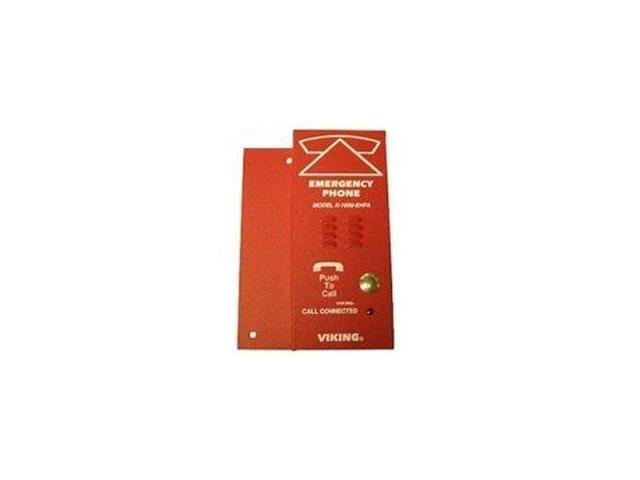Viking Electronics - K-1600-EHFA - ADA Compliant Red Elevator Phone with  Dialer and Voice Announcer - Newegg com