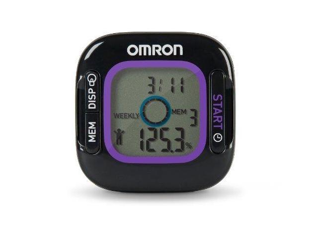 omron hja 312 activity monitor with weight loss tracker newegg com