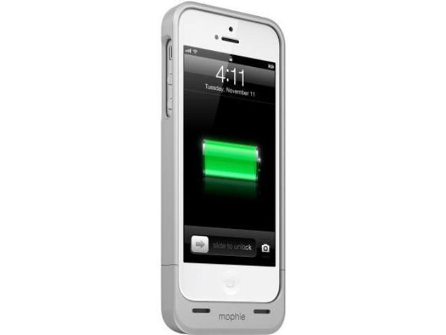finest selection e3846 bdcad mophie Juice Pack Helium 2251 for iPhone 5/5s/SE - Silver - Newegg.com