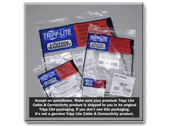 RJ45 M//M 1-ft. Tripp Lite 10-Pack Cat6 Gigabit Snagless Molded Patch Cable - Blue N201-001-BL