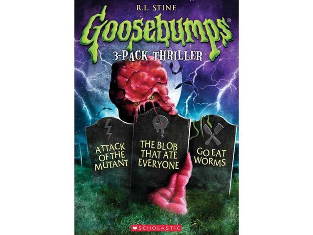 Goosebumps 3-Pack Thriller DVD - Newegg com