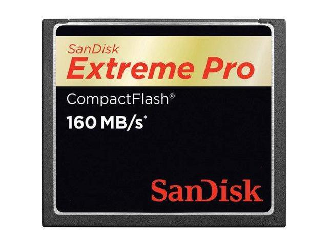 sandisk 256gb extreme pro compactflash memory card 160mb