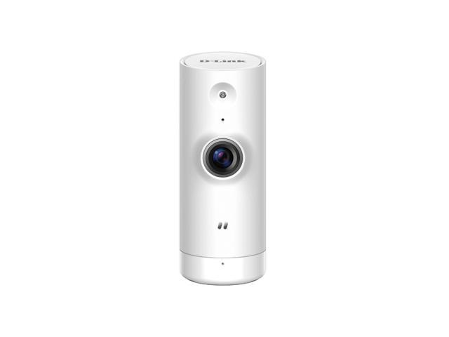 D-Link Mini HD Wi-Fi Indoor Camera - HD Resolution - Night Vision - Remote  Access - White (DCS-8000LH) - Newegg com
