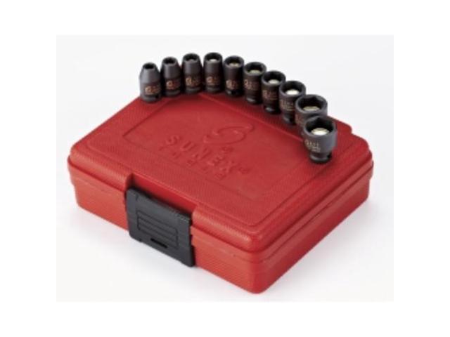 Sunex 806mg 1//4-Inch Drive 3//16-Inch Magnetic Impact Socket