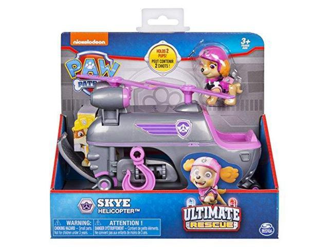 Paw Patrol Ultimate Rescue, Skye???s Ultimate Rescue Helicopter with Moving  Propellers and Rescue Hook, for Ages 3 and Up - Newegg com