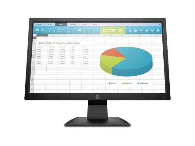 "HP P-Series P204 5RD65A8#ABA 20"" (Actual size 19.5"") HD+ 1600 x 900 5ms (GTG) 60 Hz VGA, HDMI, DisplayPort LED Backlight Monitor"