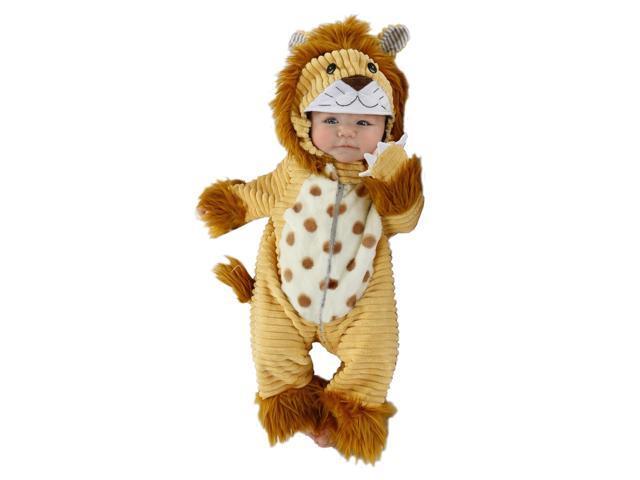 baby plush corduroy lion infant animal halloween costume