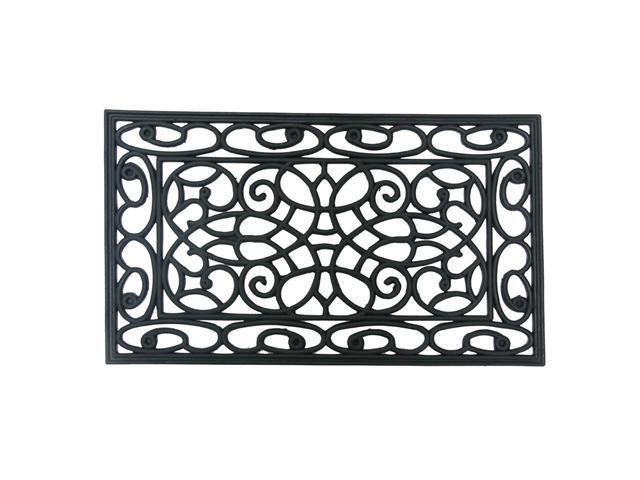 Orion Outdoor Cast Iron Door Mat 18 X 30 Decorative Rubber Doormat Neweggcom