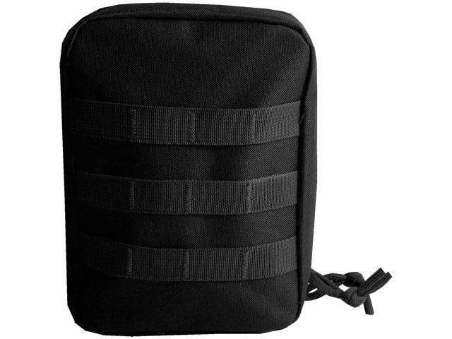 Every Day Carry Tactical IFAK First Aid Kit MOLLE Medical Pouch - Black -  Newegg com