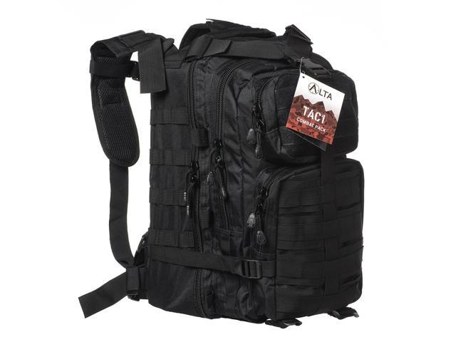 TACTICAL BACKPACK US ASSAULT PACK LARGE HIKING BAG ARMY RUCKSACK  36 LITRE BLACK