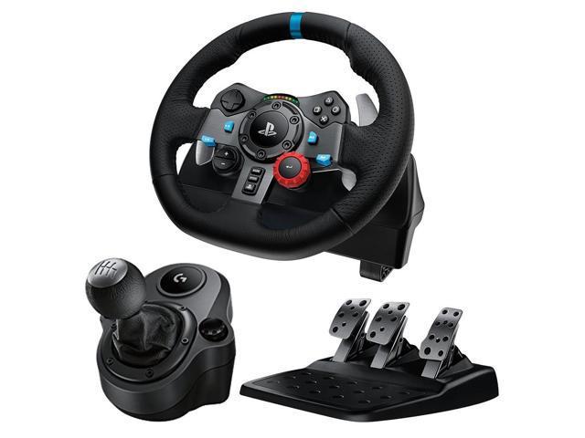 Logitech G29 Driving Force Race Wheel + Logitech G Driving Force Shifter  Bundle - Newegg com