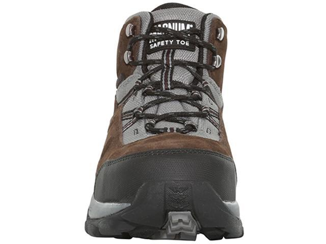 0af2720b409 Magnum Men's Bridgeport Waterproof Steel Toe Boots, Chocolate / Charcoal,  9.5 - Newegg.com