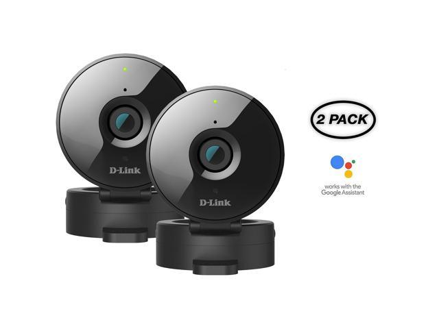 Refurbished: 2-Pack D-Link WiFi 720P Wirless-N Home Security Camera w/ Night Vision DCS-936L