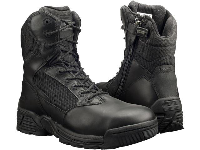 b445eb0dd57 Magnum Mens STEALTH FORCE 8.0 SZ WPI Black Police Army Combat Boots 11 -  Newegg.com