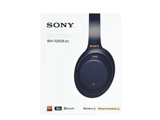 Sony WH-1000XM3/B Wireless Industry-Leading Noise-Cancelling Over-Ear  Headphones with Google Assistant (Black) - Newegg com