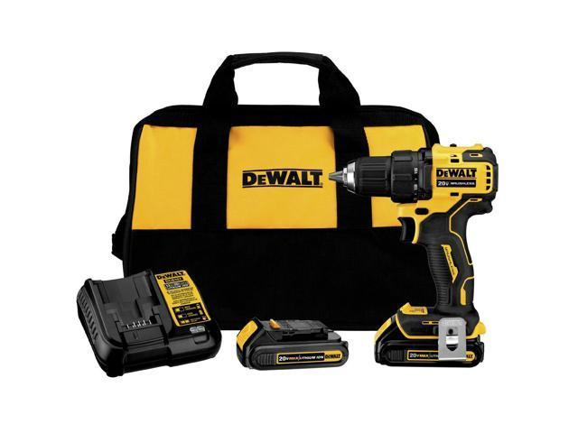 Refurbished: Dewalt DCD708C2R ATOMIC 20V MAX Brushless - Sale: $89.99 USD (25% off)