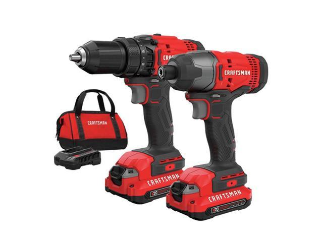 Refurbished: Craftsman CMCK200C2R 20V Variable Speed Lithium-Ion - Sale: $89.99 USD (10% off)