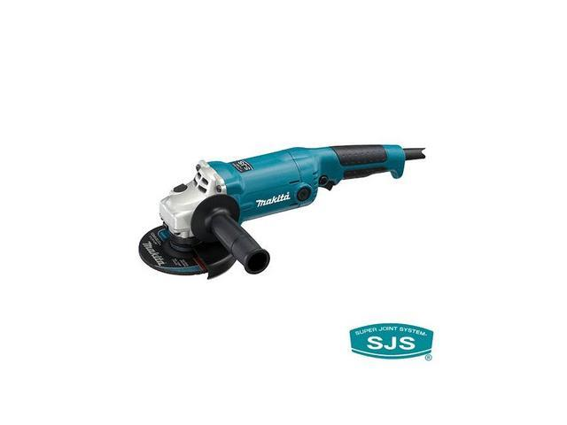 Makita GA5020 5 in. SJS Trigger Switch Angle Grinder with AC/DC Switch on