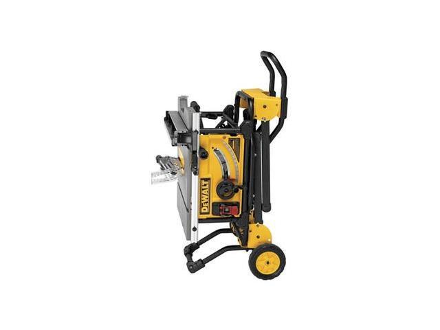 Dewalt Dwe7491rs 10 In 15 Amp 120v Site Pro Compact Jobsite Table Saw With