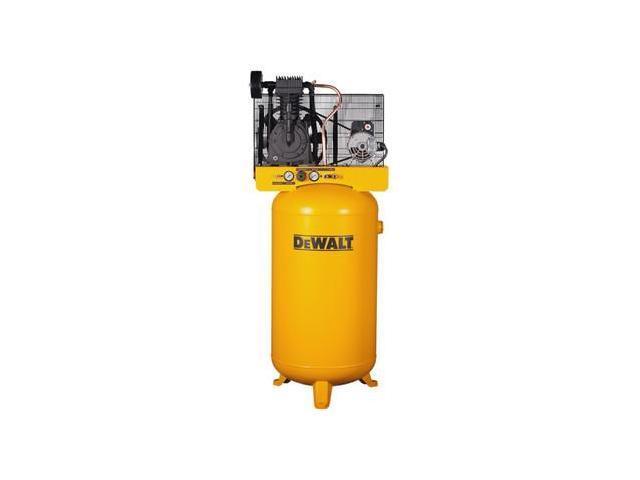 Dewalt DXCMV5048055 1 5 HP 80 Gallon Oil-Lube Stationary Vertical Air  Compressor - Newegg com