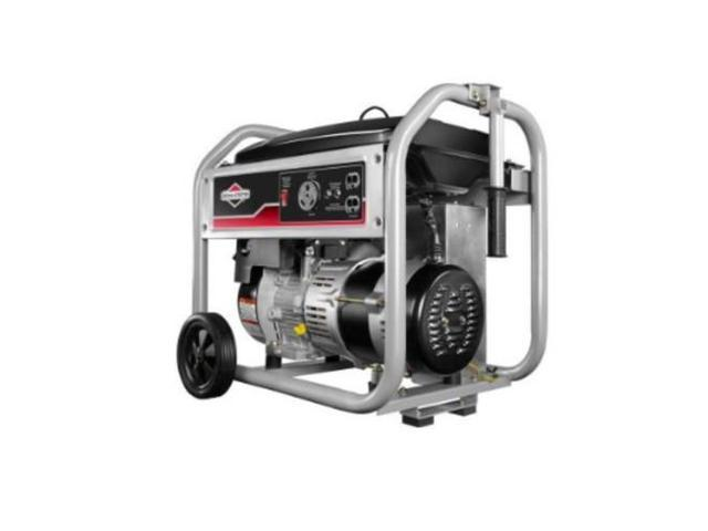 Recoil Gasoline Portable Generator, 3500 Rated Watts, 4375 Surge Watts,  120VAC - Newegg com