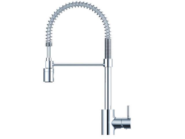 Danze DH451188 The Foodie Pullout Spray Single Hole Kitchen Faucet (Chrome)