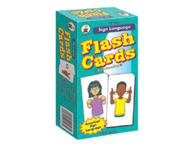 CD-3927 Carson-Dellosa Publishing Sign Language Flash Cards