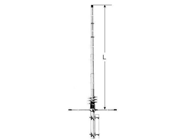 Sirio 50-60 Mhz Omni-Directional 6M Vertical Base Station Antenna -  Newegg com